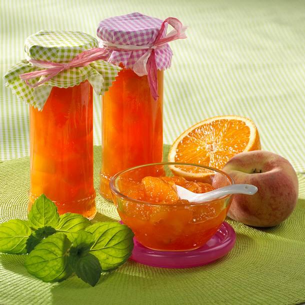 Campari-O-Pfirsichkonfitüre Rezept