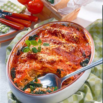 Cannelloni in Tomaten-Sahne Rezept
