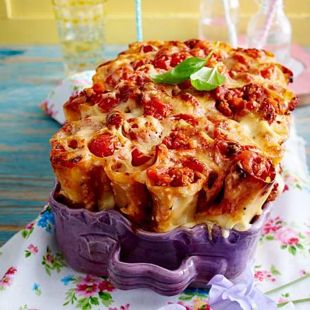 Cannelloni-Pie mit Bolognesesoße Rezept