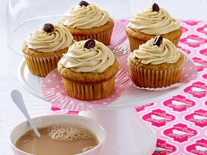 Cappuccino-Cupcakes mit Süßkartoffel Rezept