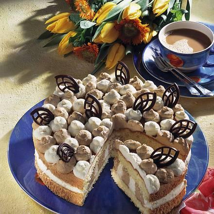 Cappuccino-Eierlikör-Torte  Rezept