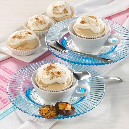 Cappuccino-Eis-Muffins Rezept