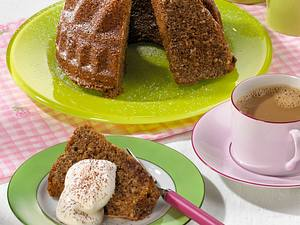 Cappuccino-Nuss-Kuchen Rezept