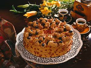 Cappuccino-Nuss-Torte Rezept