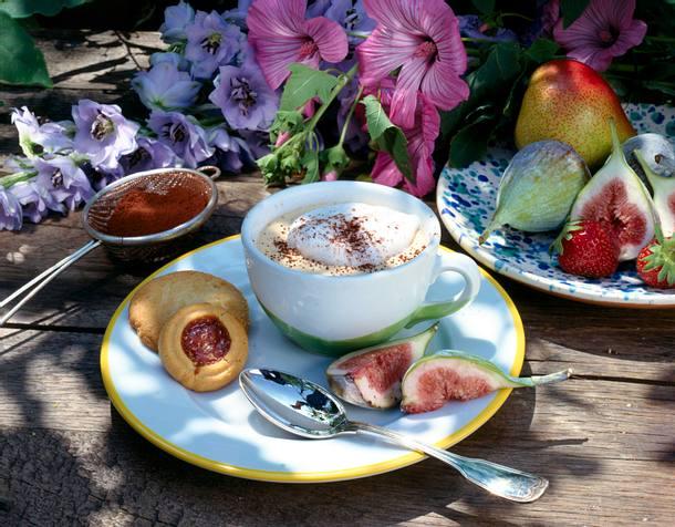 Cappuccino-Parfait Rezept