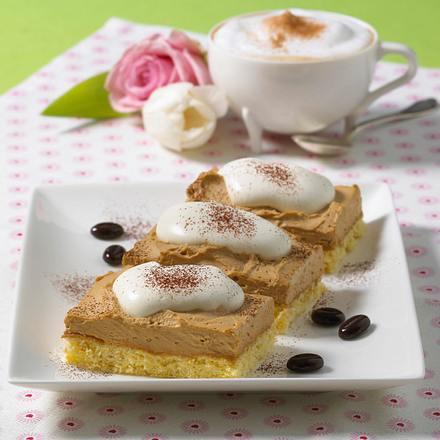 Cappuccino-Schnitten Rezept