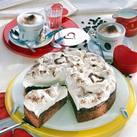 Cappuccino-Torte Rezept