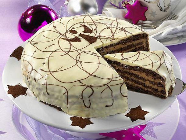 Cappuccino-Trüffel-Torte Rezept