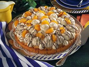 Cappuccino-Tupfen-Torte Rezept