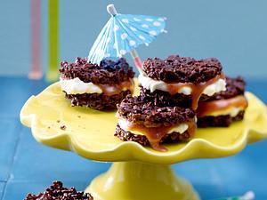 Knusper-Häppchen mit Caramel-Cheese-Füllung Rezept