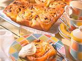 Caribic- Rosettenkuchen vom Blech mit Zitronenguss Rezept