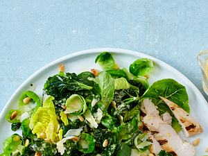 Ceasar Salad mit Grünkohl Rezept