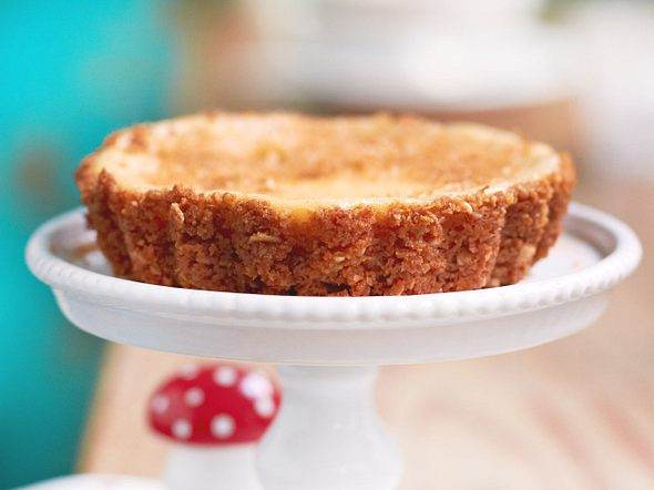 Chai-Cheesecake-Tartelettes Rezept