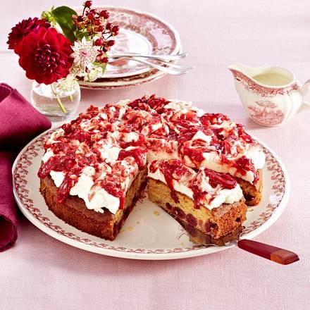 Chai-Kirsch-Kuchen Rezept