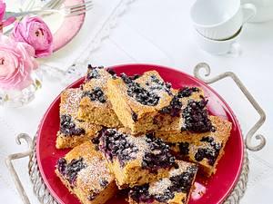 Chai Latte-Kuchen mit Heidelbeeren Rezept