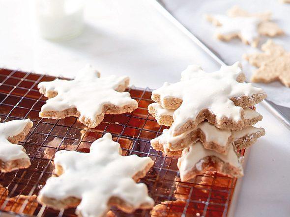 Chai-Schneeflöckchen mit Mandeln Rezept