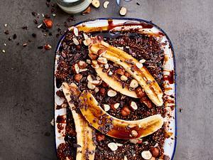Chai-Schoko-Quinoa-Auflauf Rezept