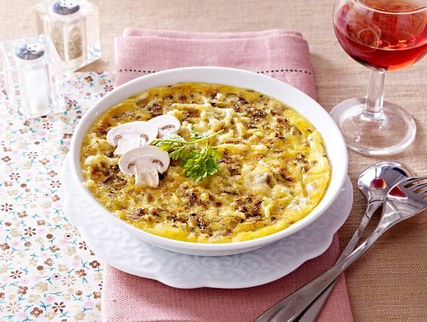 Champignon-Crème brûlée Rezept