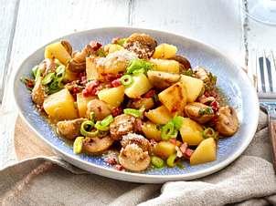 Champignon-Kartoffel-Pfanne Rezept