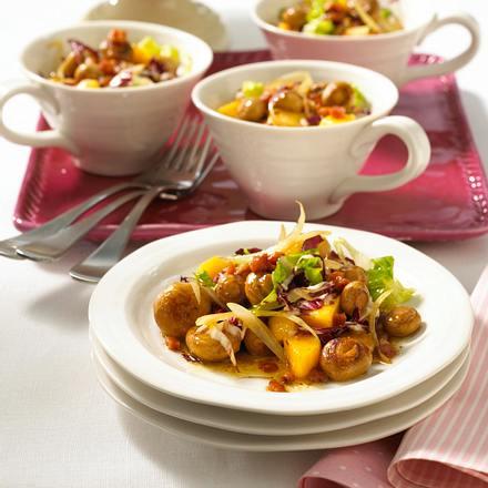 Champignon-Speck-Salat Rezept