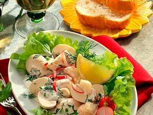 Champignons in Knoblauchcreme Rezept