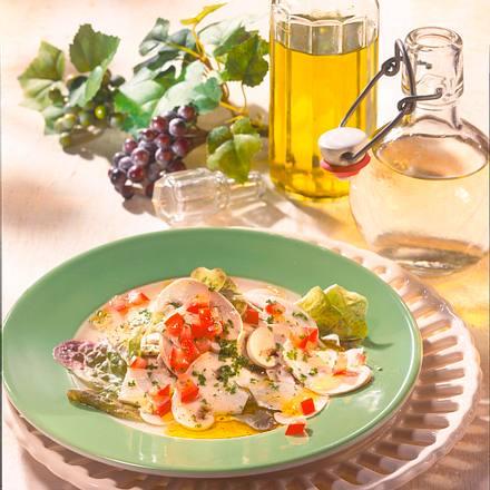 Champignons in Tomaten-Vinaigrette Rezept