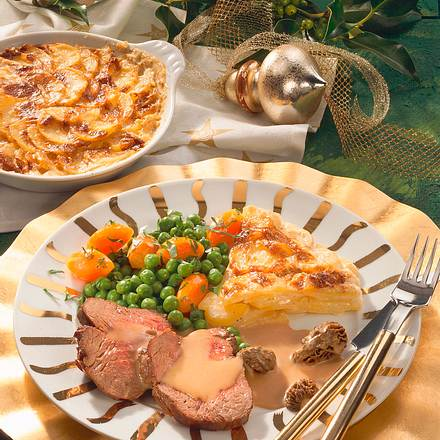 Chateaubriand mit Kartoffelgratin Rezept