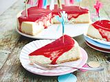Happy-Family-Cheesecake mit Smoothie-Guss Rezept