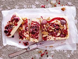 Cheesecake Parfait mit Himbeeren Rezept