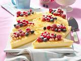 Cheesecake vom Blech mit Beerenmix Rezept