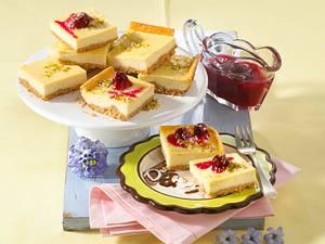 Cherry-Cheesecake (Kirschkäsekuchen) Rezept