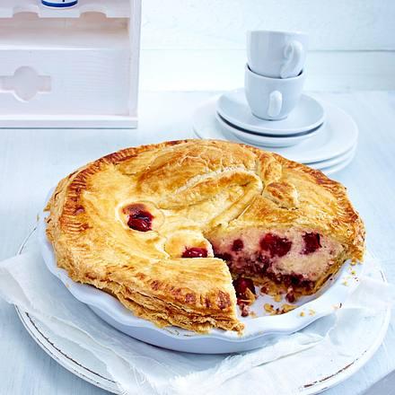 Cherry-Cheesecake-Pie Rezept