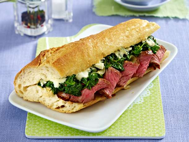 Sandwich-Rezepte - belegte Brote deluxe! - chicago-steakhouse-sandwich