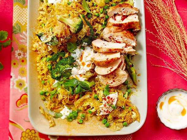 Chicken Biryani Rezept