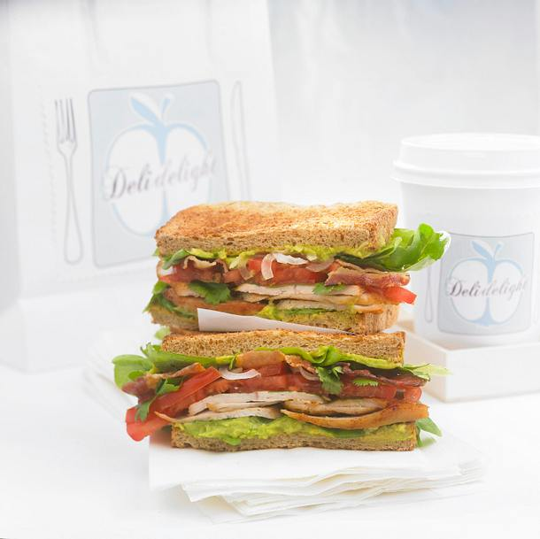 Chicken-Club-Sandwich Rezept