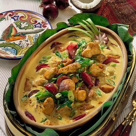 Chicken-Corma Rezept