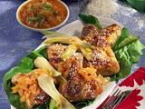 Chicken Wings mit Apfel-Ingwer-Dip Rezept