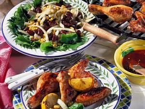 Chicken Wings und Hähnchenunterkeulen Rezept