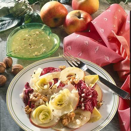 Chicorée-Apfel-Salat Rezept