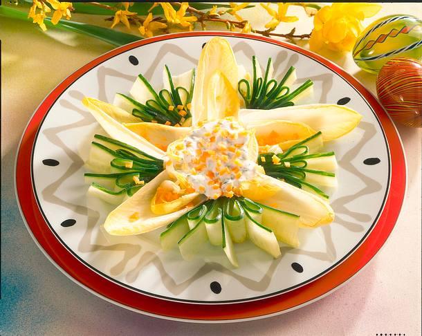 Chicorée-Blüte Rezept