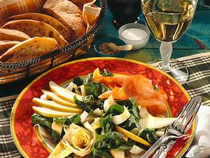 Chicorée-Mangold-Salat Rezept