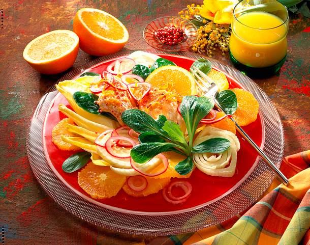 Chicorée-Salat Rezept