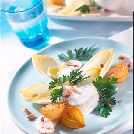 Chicoréesalat mit Ziegenkäse Rezept