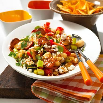 Chili-Bohnen-Salat Rezept