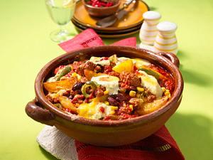 Chili con Carne-Auflauf Rezept