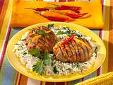 Chili-con-Carne-Hacksteaks Rezept