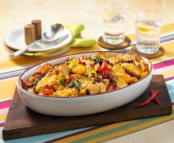 Chili con Chicken-Auflauf Rezept