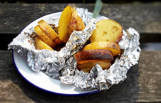 Chili Kartoffeln vom Grill Rezept