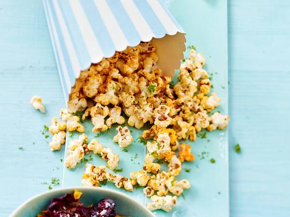 Chili-Limetten-Popcorn Rezept