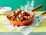 Chili mit Kichererbsen und Paprika Rezept